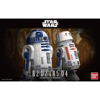 Star Wars 1/12 R2-D2 & R5-D4 - Model Kit