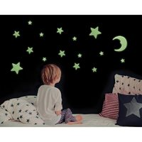 IS GIFT: Glow in the Dark Stars & Moons