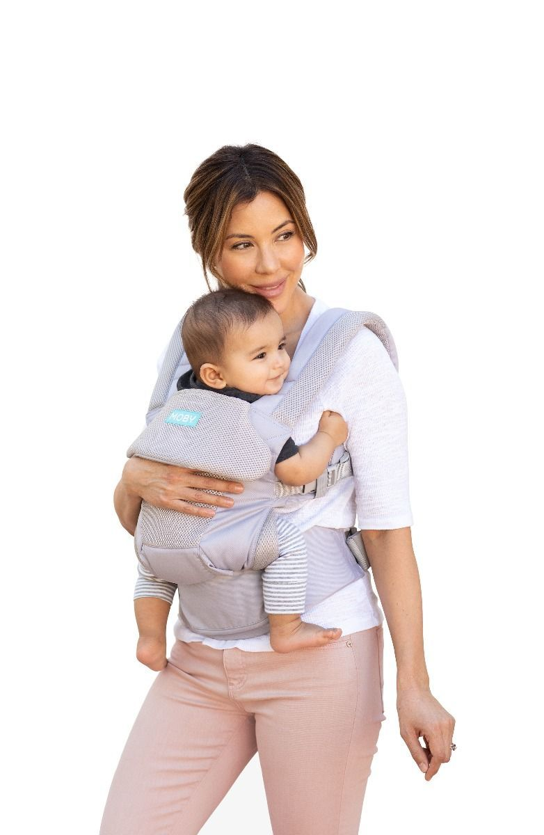 Moby Move Baby Carrier - Glacier Grey image