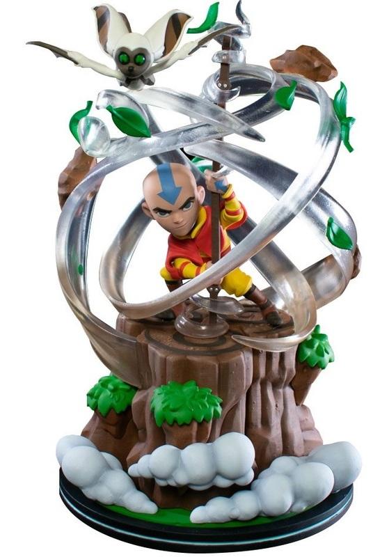 Avatar The Last Airbender: Aang - Q-Fig Max Elite