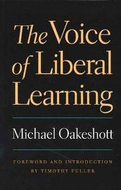 Voice of Liberal Learning by Michael Oakeshott image