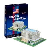 3D Puzzle - Lincoln Memorial (USA)