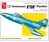 AMT Grumman F9F Panther 1/48 Model Kit