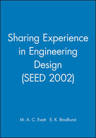 Sharing Experience in Engineering Design (SEED 2002) image