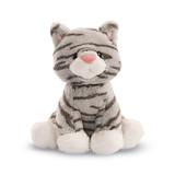 Gund: Animal Chatter Cats Plush - Gray Striped