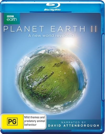 Planet Earth II on Blu-ray image