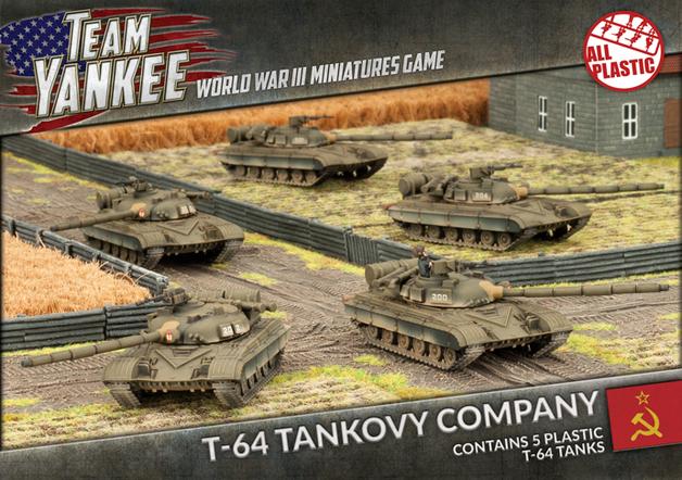 Team Yankee: T-64 Tank Company (Plastic)