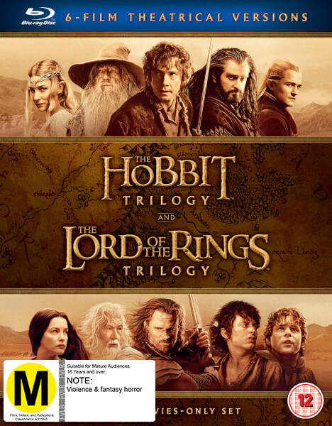 Middle Earth Collection on Blu-ray