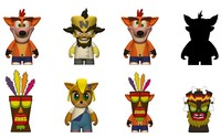 Kidrobot: Crash Bandicoot - Mini-Figure (Blind Box)