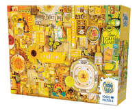 Cobble Hill: The Rainbow Project (Yellow) - 1000pc Puzzle