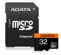 Adata: Premier Pro microSDHC UHS-I U3 V30 Card - 32GB