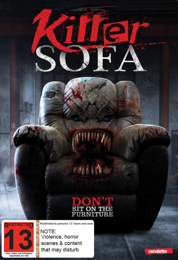 Killer Sofa on DVD image