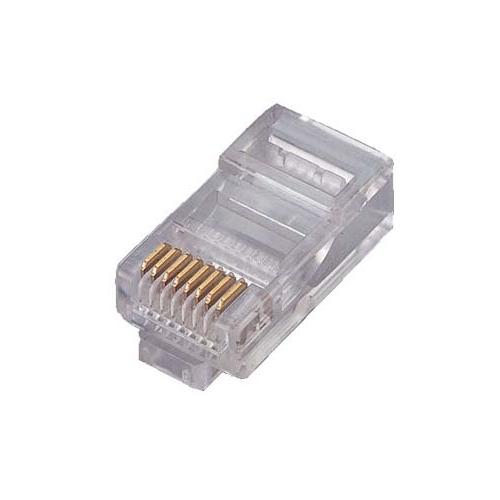 8Ware: RJ45 Plug for Stranded Cable - (10pcs per unit)