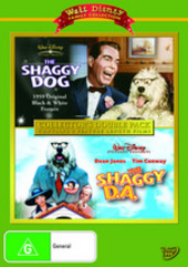 Shaggy Dog, The (1959) / Shaggy D.A., The - Collector's Double Pack (2 Disc Set) on DVD