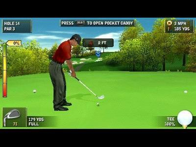 Tiger Woods PGA Tour 07 for PSP image