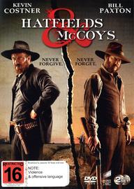 Hatfields & McCoys on DVD