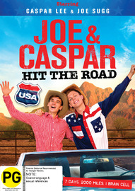Joe & Caspar Hit the Road USA on DVD