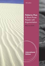 Patterns Plus: A Short Prose Reader with Argumentation by Mary Lou Conlin image