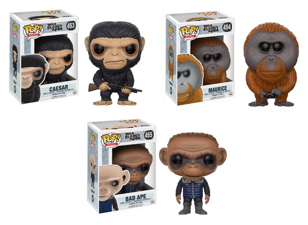 War for the Planet of the Apes - Pop! Vinyl Bundle