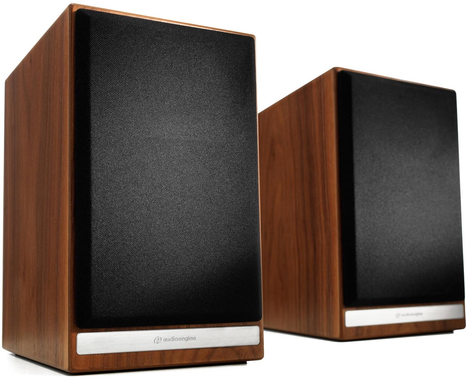 Audioengine: HDP6 Passive Bookshelf Speakers (Pair) - Walnut image