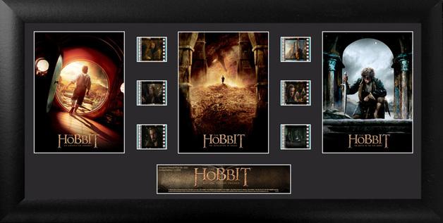 FilmCells: Montage Frame - The Hobbit (Bilbo Trilogy)