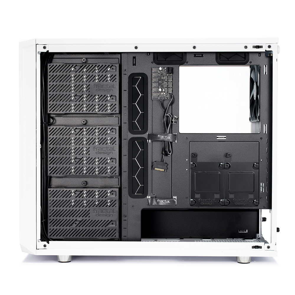 Fractal Design: Meshify S2 - White - Clear Tempered Glass image