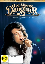 Coal Miners Daughter on DVD image