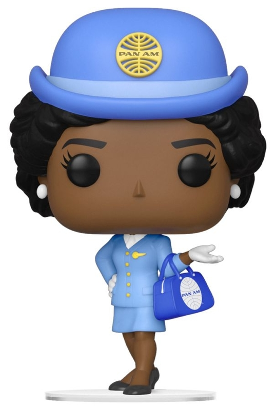 Pan Am: Stewardess (with Blue Bag) - Pop! Vinyl Figure