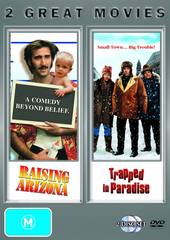 Raising Arizona / Trapped In Paradise on DVD