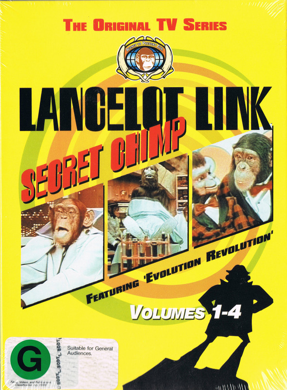 Lancelot Link: Secret Chimp (3 Disc Set) on DVD