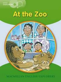 Little Explorers A: At the Zoo by Barbara Mitchelhill image
