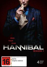 Hannibal - Season 1 on DVD