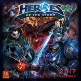 Heroes of the Storm 2017 Wall Calandar by Blizzard Entertainment