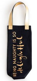 Anything Goes - Being Naughty Wine Tote