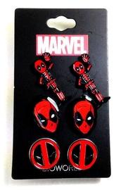 Marvel: Deadpool Earrings Set (3-Pack)