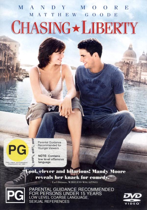 Chasing Liberty on DVD image