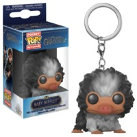 Fantastic Beasts 2 - Baby Niffler (Black & White) Pocket Pop! Keychain