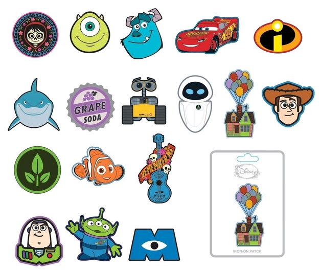 Pixar - Patches (Assorted Designs)