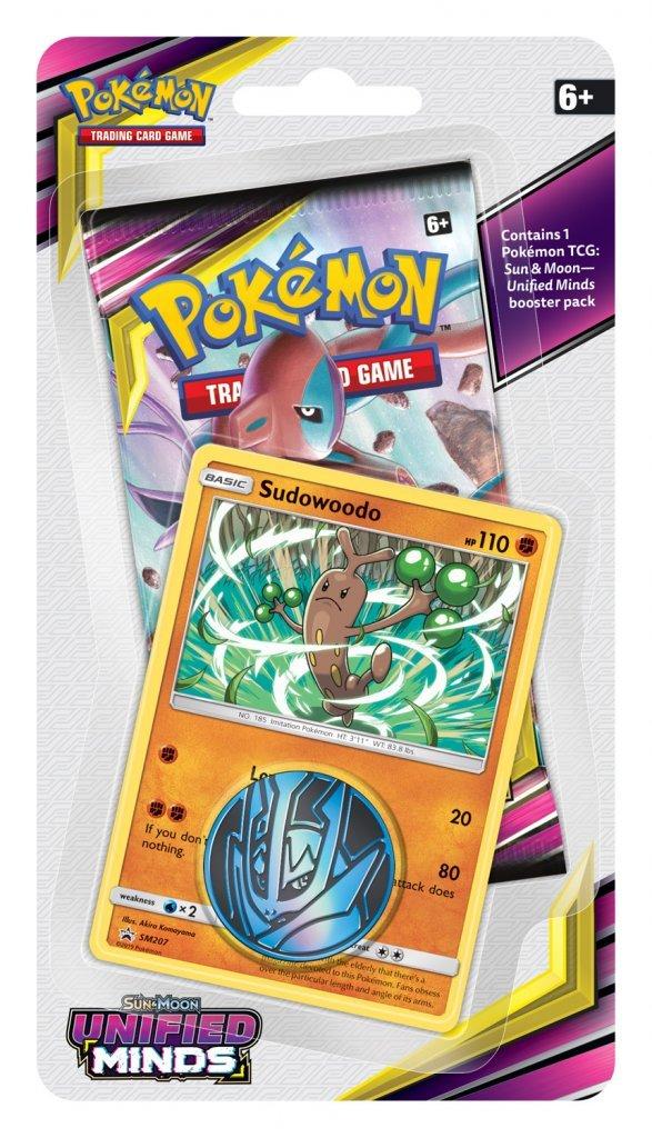 Pokemon TCG: Unified Minds Checklane Blister Sudowoodo image