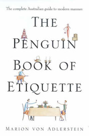 The Penguin Book of Etiquette by Adlerstein Marion von image