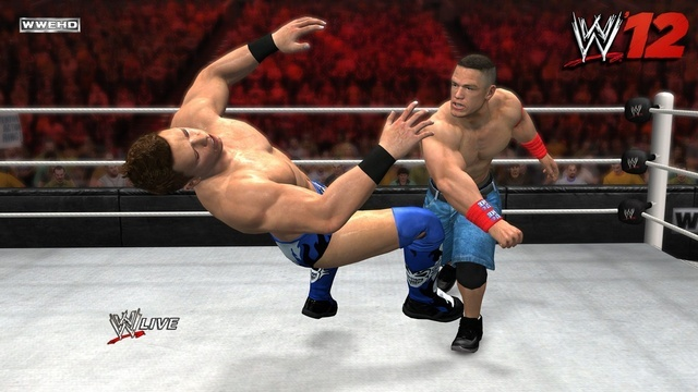 WWE '12 screenshot