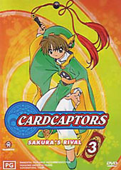 Cardcaptors - Vol 3 on DVD