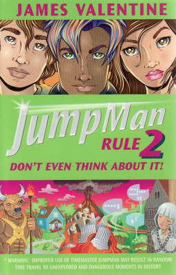 Jumpman Rule Two: Don't Even Think by James Valentine