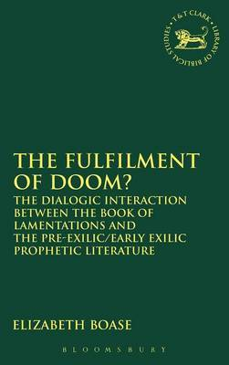 The Fulfilment of Doom by Elizabeth Boase