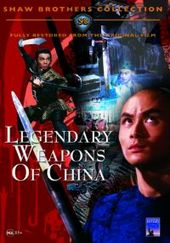 Legendary Weapons Of China on DVD
