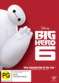 Big Hero 6 on DVD