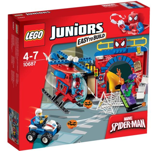 LEGO Juniors: Spider-man Hideout (10687)