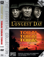 Longest Day, The / Tora Tora Tora (Double Pack) on DVD