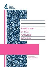 Assessment of TOC Analytical Accuracy by L. Kaplan