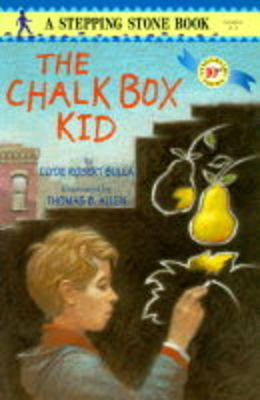 Stepping Stone Chalk Box Kid by Clyde Robert Bulla image